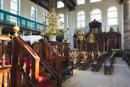 Photo  The Portugese Synagogue, Amsterdam