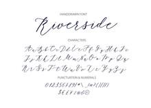Riverside - Handwritten Script...