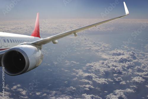 Zdjęcie XXL Samolot w niebo lotu podróży transportu samolotu