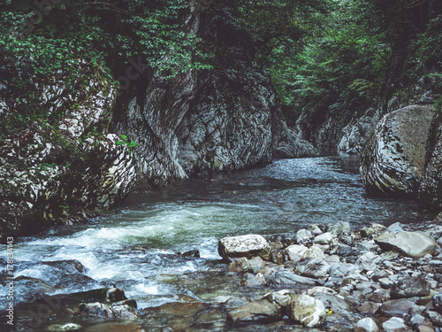Zdjęcie XXL strumień rzeki kanion rzeki