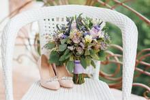 Beautiful Wedding Bouquet Of W...