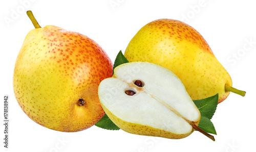Zdjęcie XXL Świeże bonkrety z liściem odizolowywającym na białym tle