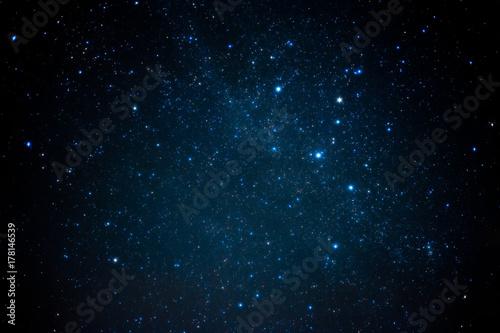 Foto  Blue shining nebula Cassiopeia. 青く輝く星雲・カシオペア座