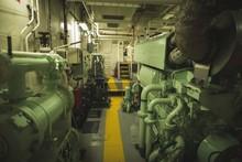 Interior Of Engine Spaces