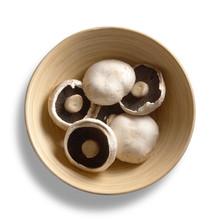 Mushrooms In Bowl