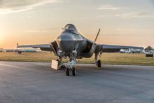 F-35C On Ground