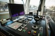 Monitor on control bridge