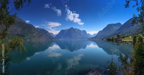 Plakat Jezioro Strynevatnet, Norwegia