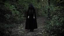 Black Witch Is Wearing Black C...
