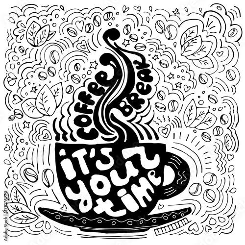 filizanka-kawy-napis-o-przerwie-i-przy-przerwie-filizanka-kawy-sylwetka-z-lit