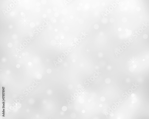 White Crystals Abstract Background Wallpaper Mural