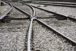 Cruce de vias de tren (Spain)