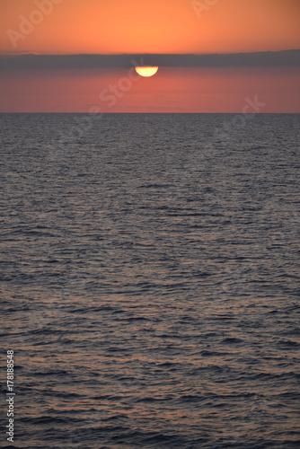 Fotografia  Puesta del sol Mar Mediterraneo (Islas Baleares) - Spain