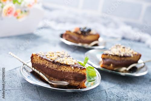 Plakat ciasto czekoladowe