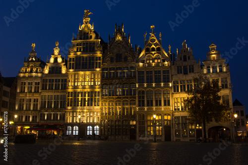 Poster Brussel Antwerp