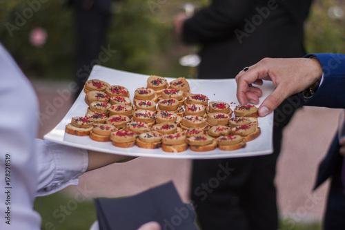 Plakat Jedzenie na wesele