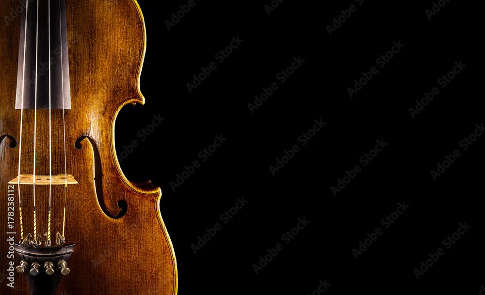 Fototapeta close up of a violin
