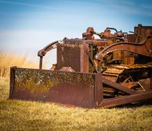Rusty Old Bulldozer