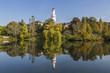 canvas print picture - Schloss Bad Homburg mit Weißem Turm, Bad Homburg vor der Höhe, Deutschland