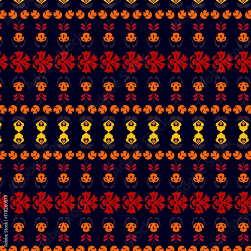 Fotografija  folk art pattern vector desgin