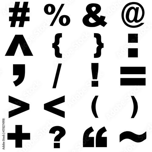 Fotografie, Obraz  simbolos