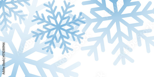 christmas winter background christmas snowflakes white and blue snow elegant christmas background happy