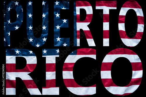 Photo united states giving puerto rico hurricane relief