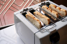 Slice Of Bread In The Toaste...