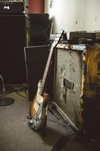 Punk Rock Guitar And Amp