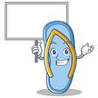 Bring board flip flops character cartoon
