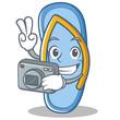 Photography flip flops character cartoon