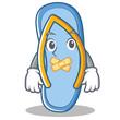 Silent flip flops character cartoon