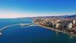Aerial view of Sochi. Russia