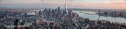 new york skyline panorama © Redfox1980