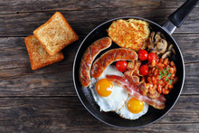 Full English Breakfast On Fryi...