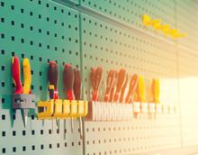 Engineer Tool Storage On Wall ...