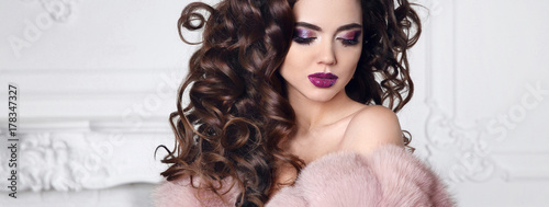 Tablou Canvas Glitter beauty makeup