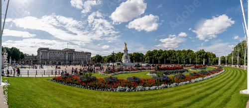 Photo Der Park vor dem Buckingham Palace