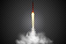 Rocket Launch,ship.vector Illu...