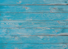 Blue Wood Planks Texture Or Background