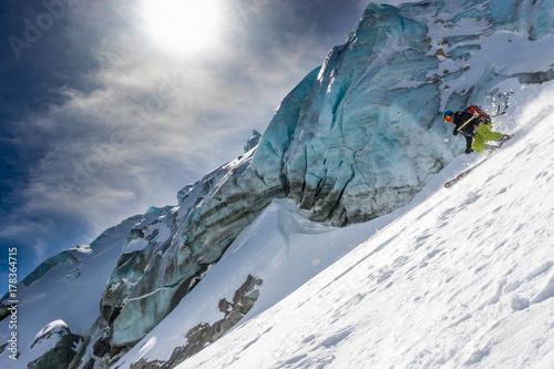 Valokuva  Skiing & Seracs