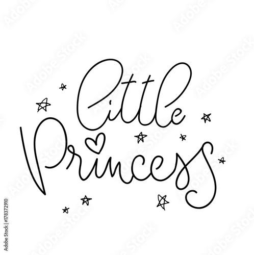little-princess-inspirujacy-napis-sentencja-do-pokoju-dziewczynki-mala-ksiezniczka