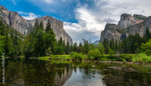 Plakat Dolina Yosemite widok