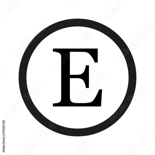 fancy letter e designs letters