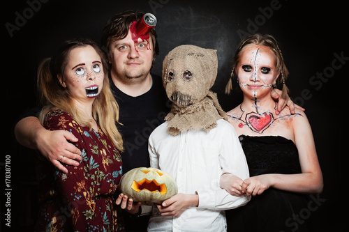 Photo Halloween Family