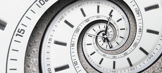 Modern diamond white clock ...