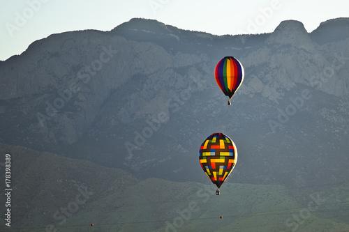 Plakat Balon na gorące powietrze