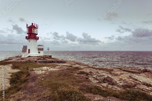 Zdjęcie XXL Latarnia morska Lindesnes w Norwegii