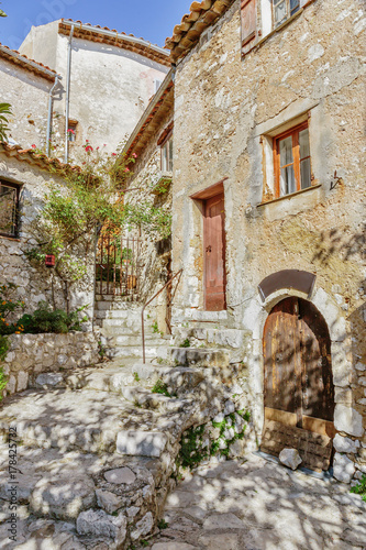 Fototapety, obrazy: old town in France.