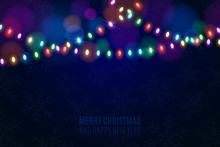 Christmas Multicolored Lights ...